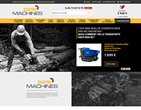 Webdesign E-commerce / E-shop : Serie 6