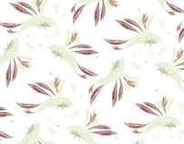 fish textile pattern