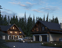 Chalet house in Skhidnytsia