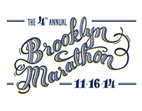 Brooklyn Marathon 2014 Graphic