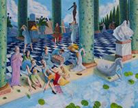 Death of Heliogabalus--Rémy Poisson
