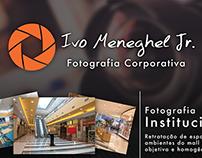 Flyer: Divulgação   Fotografia Corporativa Ivo Jr.