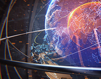 Earth Globe Concept