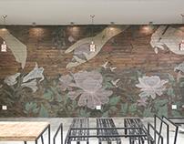 [Mural] Gourmet Garden's wall