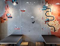 Makisu concrete wall