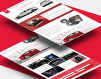 Promo site Tesla Model S