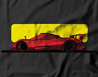 Automobile T-shirt Design