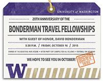 Bonderman Event Email Invite, U of Washington