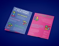 Leaflet, poster and logo animation
