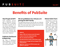 PubSuite Benefits Sheet