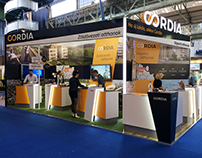 Cordia stand at Lakásvásár Exhibition