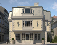 French classics house exterior