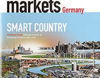Cover + double page for markets Germany Magazine