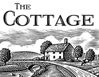 The Cottage Westport Logo Illustrated by Steven Noble