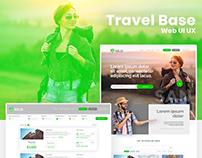 Travel Web UI UX