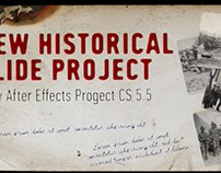 Flame History After Effects Project