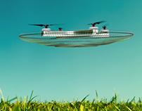 UFO DRONE CONCEPT