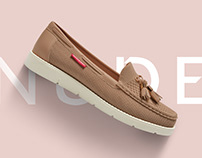 Nudebirds Footwear | Branding