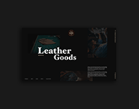 Brown Leather Goods Website