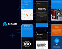 SIDUR: Website design