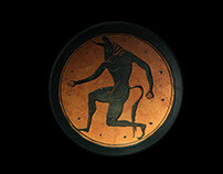 Minotaur Kylix