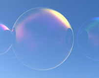 Free Work. Soap Bubbles