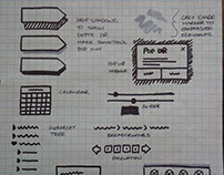 Wireframe design patterns