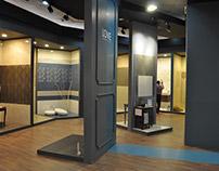 AL SHARQ for ceramics booth design