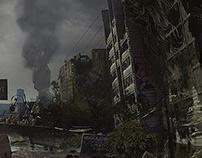 METRO: EXODUS- SAM'S STORY DLC // VISION CONCEPT ART