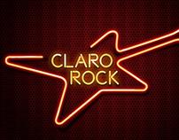 Plataforma Claro Rock - Marca e comunicação visual
