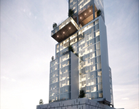 Luxury Office Tower, Puebla México