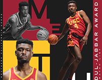 USC Basketball Preseason Award Graphics 2017