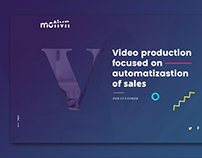 Motivn - identity / branding / landing