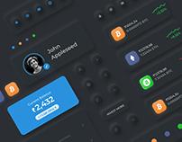 Wallet App Concept Design