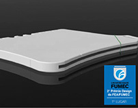 Prancheta Pense Leve - Winner Fumec Design Award - 2009