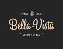 "2012. Logo for furniture factory ""Bella-Vista"""