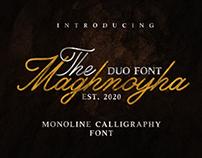 Maghnoya duo font