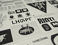 Designing logos—the best job in the world.