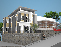 Arsitektur Guest House di Manado Sulawesi Utara