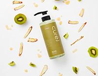 Cure J Shampoo Packaging