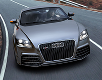 Audi TT RS plus(2013) Alias model & CGI works