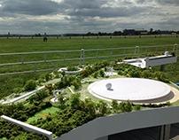 Architectural model of Technopolis