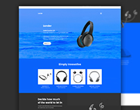 Lander - Landing Page Website Template