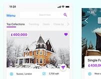 Real Estate App Screen