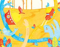 El Árbol. Libro Ilustrado.