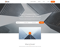 Homepage Revision for National Data Provider