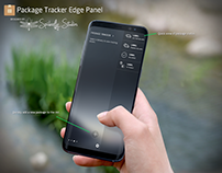 Package Tracker Edge Panel - Samsung