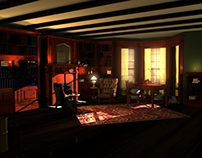 Sherlock's Livingroom