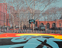 NEW YORK BASKETBALL COURTS