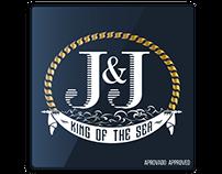 Variaçõs das propostas da logo J&J
